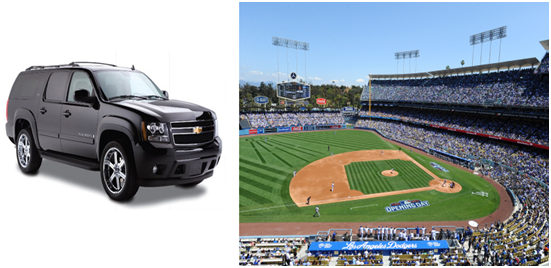 Town Car Service to Dodgers Game