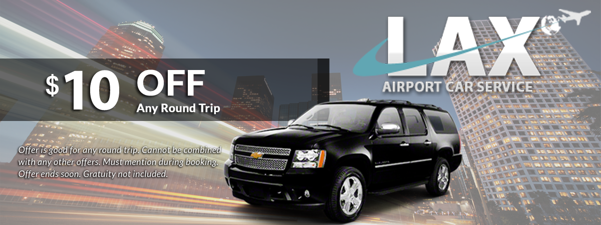 lax airport car service discount on any round trip