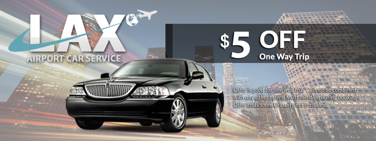 lax airport car service discount on one way trip
