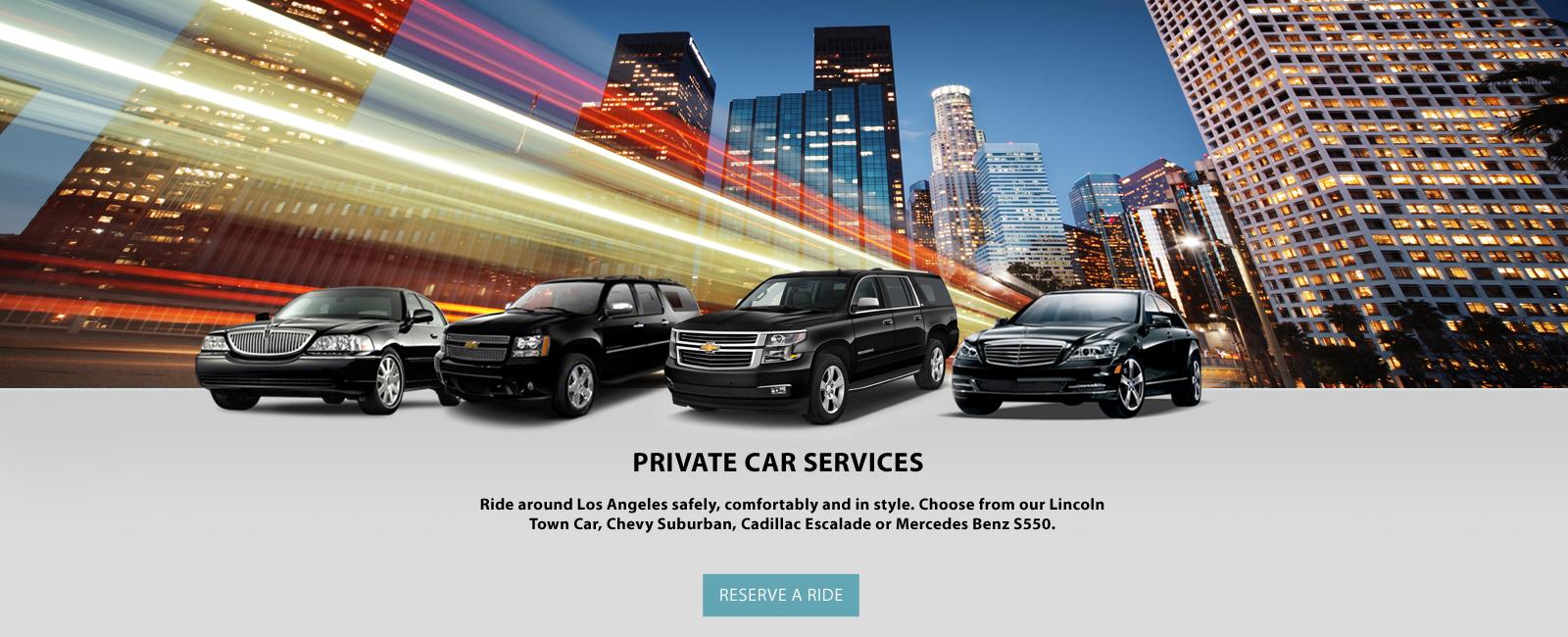 Private Town Car Service Lax